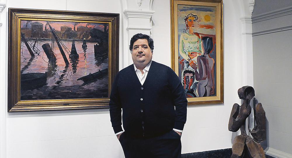 """ENTREVISTA Martín Saráchaga: """"Los impuestos alejan a la clase media del arte"""""""