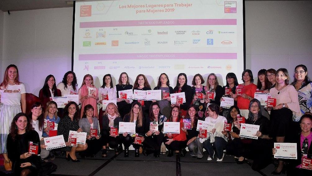 Los mejores lugares de trabajo para mujeres en Argentina