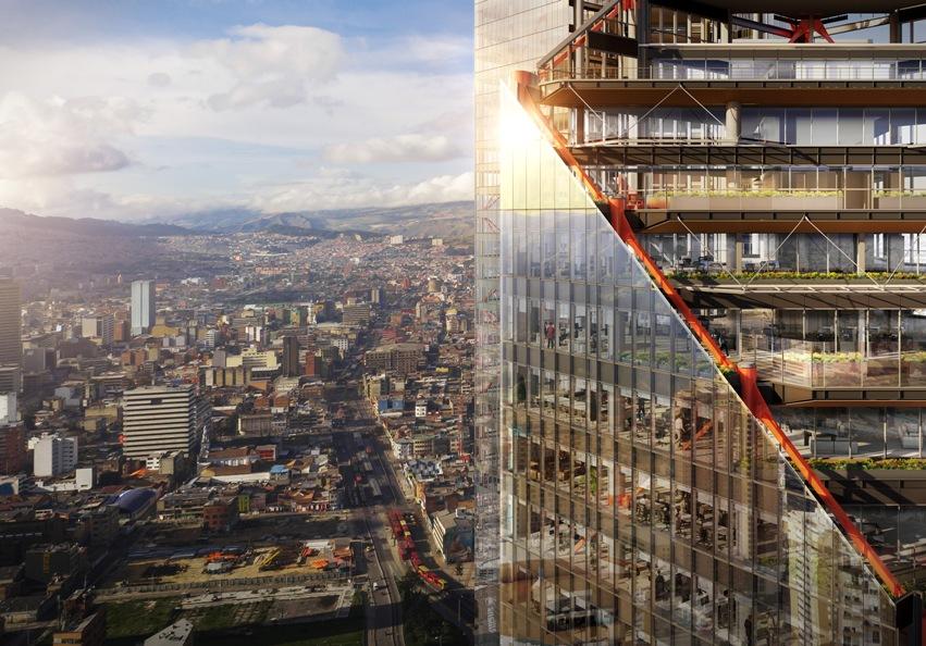 Desarrollan en Bogotá un polo residencial y comercial de 250 mil metros cuadrados