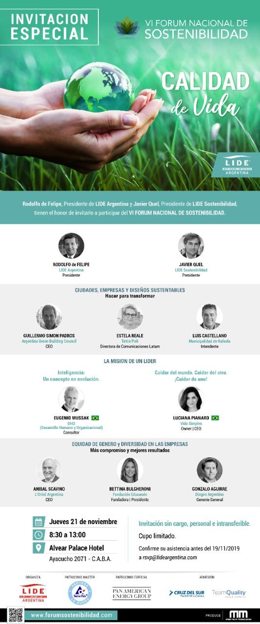 IV Forum Nacional de Sustentabilidad
