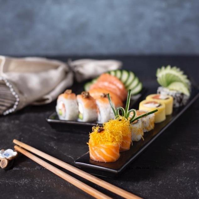 El sushi es para las mujeres en su día