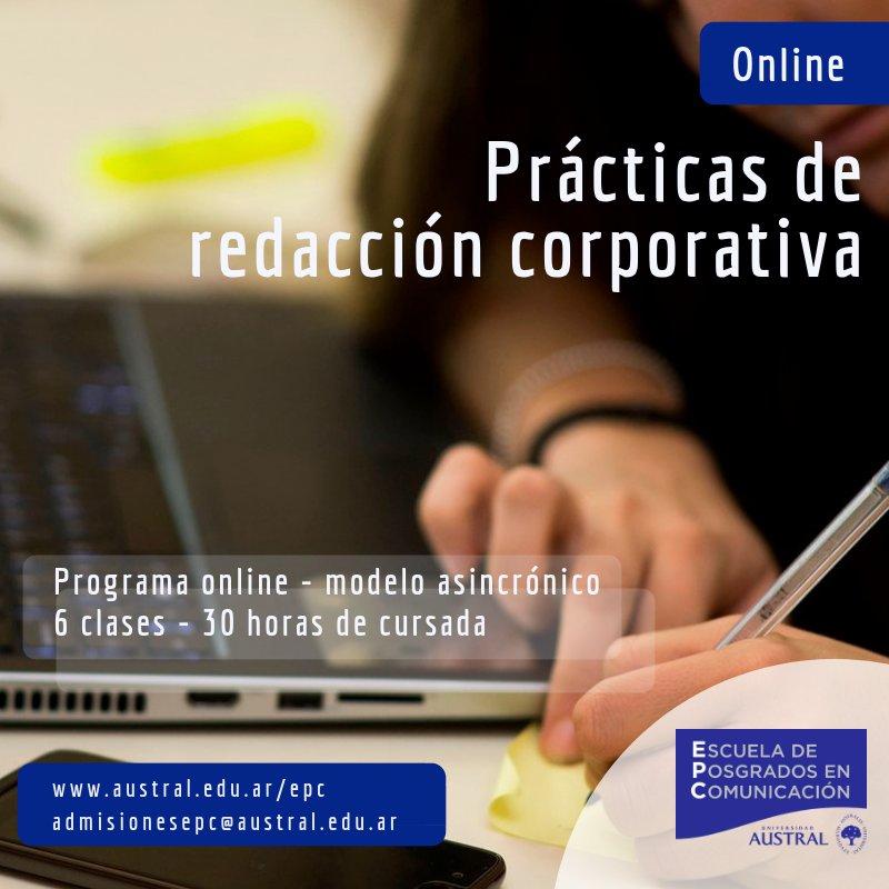Programa on-line de prácticas de Redacción Corporativa
