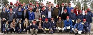 Voluntarios de Dow Argentina.