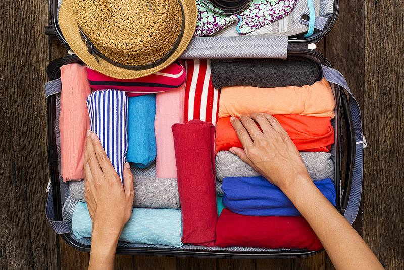 Cómo organizar tu valija a lo Marie Kondo