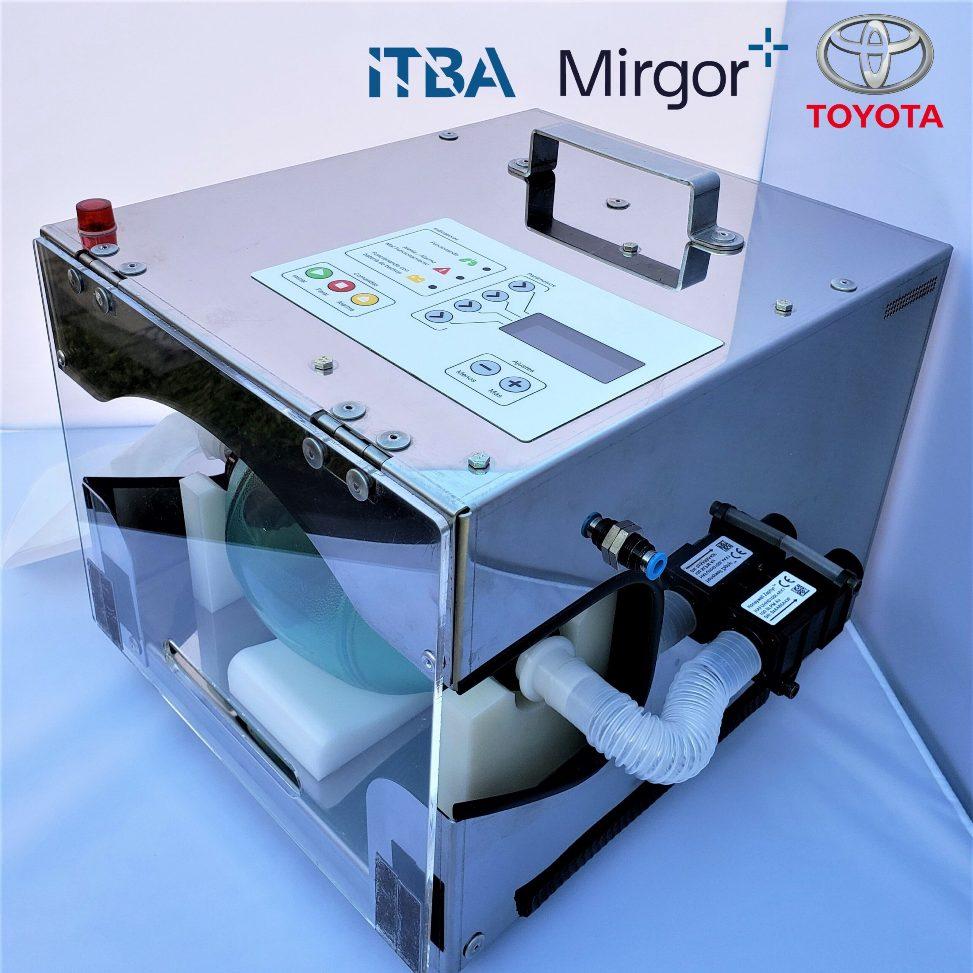 Itba, Mirgor y Toyota desarrollan prototipo de respirador de emergencia