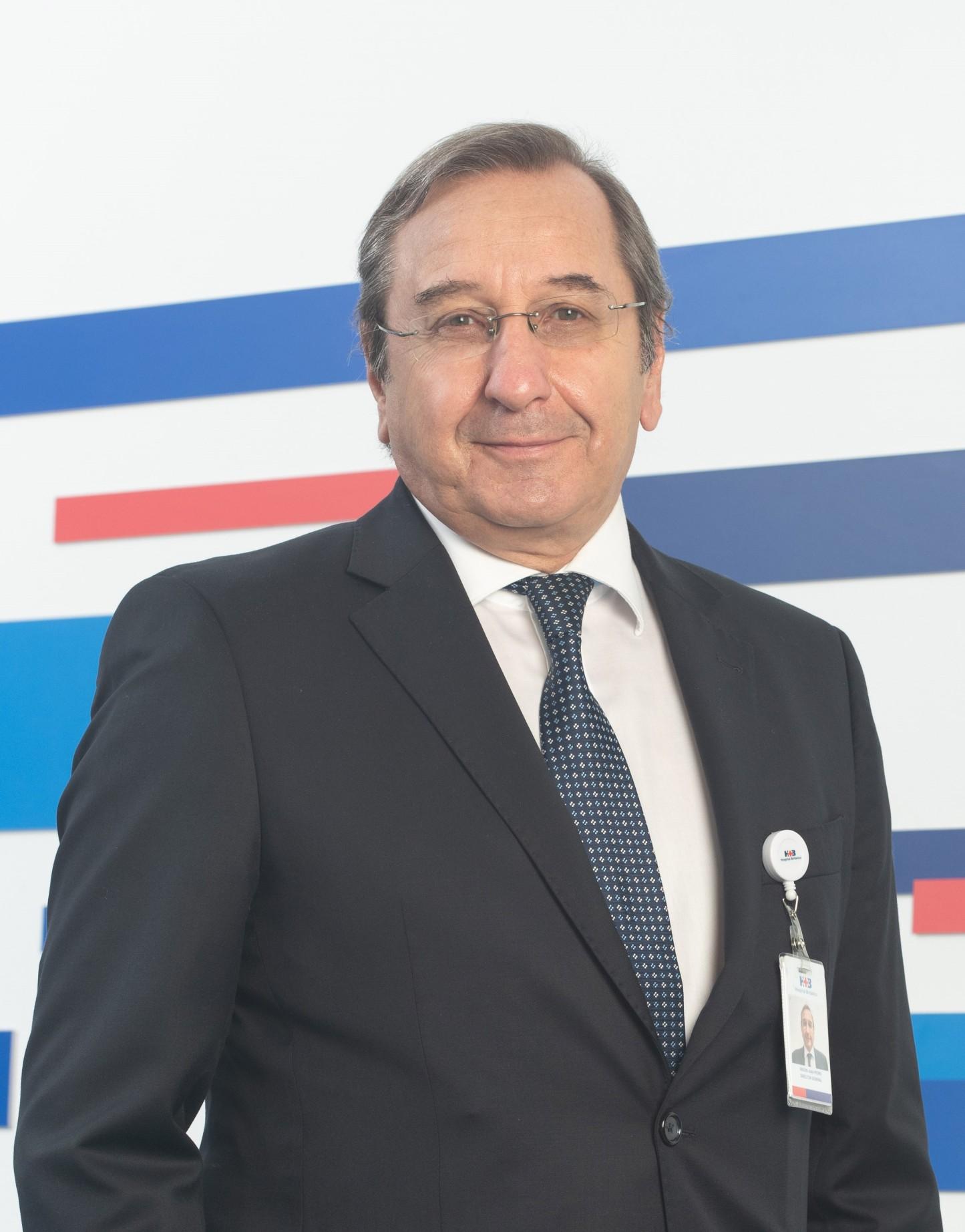 Juan Irigoin es el nuevo Director General del Hospital Británico
